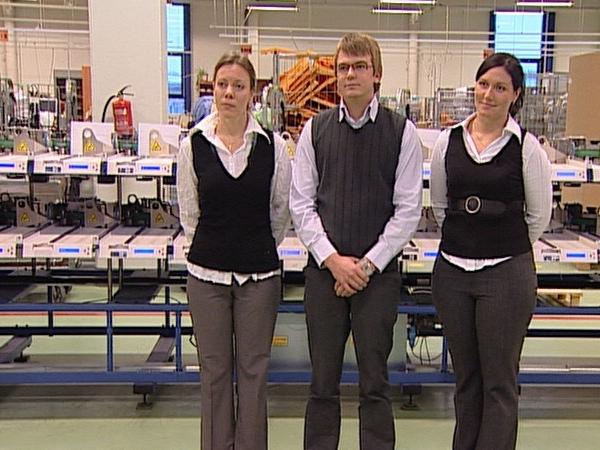 Kalevi Sokolaadivabriku tiim - Kärt Kirso, Hardo Reinike, Kristel Männik